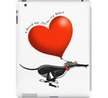 Stolen Heart - black hound iPad Case/Skin