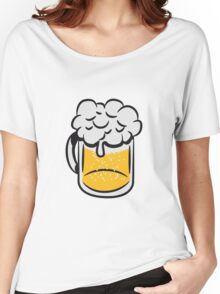 Beer drinking handle Women's Relaxed Fit T-Shirt