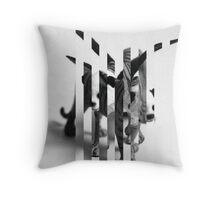 Split Chimera Throw Pillow