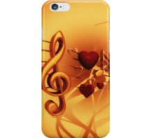 Clef iPhone Case/Skin