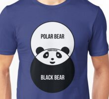 Panda Bear: Venn Diagram Unisex T-Shirt
