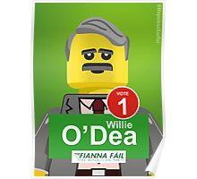 Vote Willie O'Dea Poster