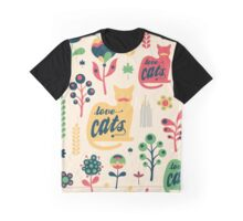 Love Cats Graphic T-Shirt