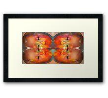 Briar versus nature weilding cold hotdogs Framed Print