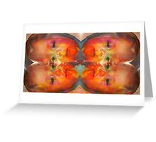 Briar versus nature weilding cold hotdogs Greeting Card