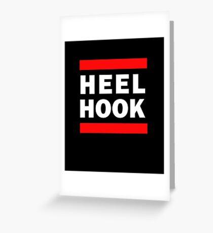 Heel Hook (BJJ & MMA) Greeting Card