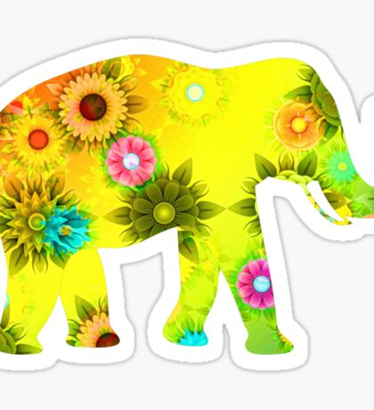 Eden Elephant Sticker