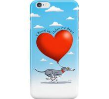 Stolen Heart - blue hound iPhone Case/Skin
