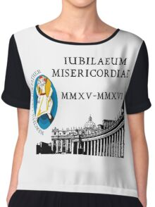 Extraordinary Jubilee of Mercy with logo, 2015 - 2016 (A) Chiffon Top