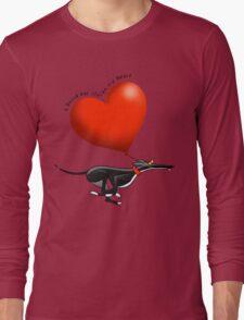 Stolen Heart - black hound Long Sleeve T-Shirt