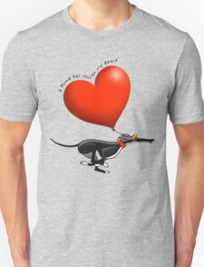 Stolen Heart - black hound T-Shirt
