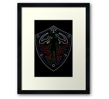 Link to Hyrule Framed Print