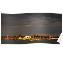In golden light - Corio Bay Poster