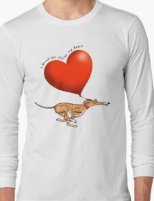 Stolen Heart - brindle hound Long Sleeve T-Shirt