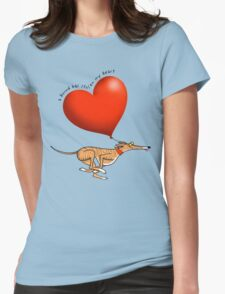 Stolen Heart - brindle hound Womens Fitted T-Shirt