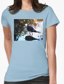 Black-winged Stilt - Colour Womens Fitted T-Shirt