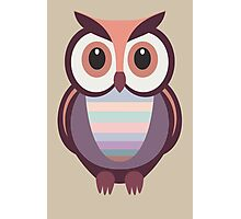 WIDE EYED OWL Photographic Print