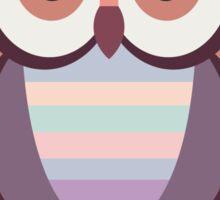 WIDE EYED OWL Sticker