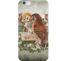 Vintage Owl iPhone Case/Skin