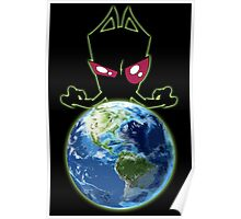 Invader from Planet Irk Poster