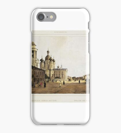 Perrot Ferdinand-Victor - Church of Our Lady of Vladimir iPhone Case/Skin
