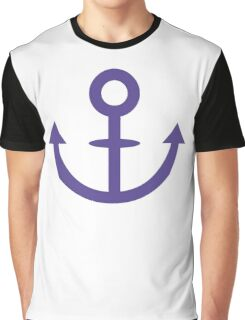 Jojo - Soft & Wet Anchor (Variant 1, Blue) Graphic T-Shirt