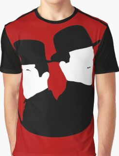 Laurel and Hardy Graphic T-Shirt