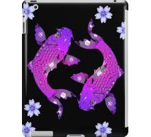 Purple Asia Koi iPad Case/Skin