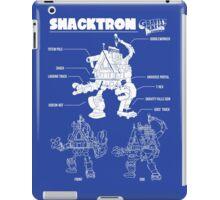 GF - Shack-tron blueprint iPad Case/Skin