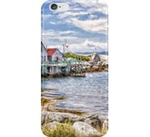 Indian Harbour - painted iPhone Case/Skin