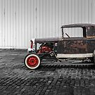 Rat Rod Black and Red by Corbin Adler