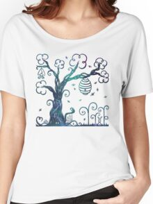 Enchanted Tree With Forest Animals Women's Relaxed Fit T-Shirt