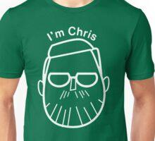 I'm Chris (white lines) Unisex T-Shirt