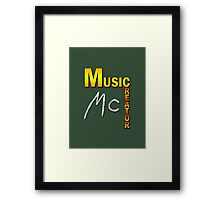 Music Creator Framed Print