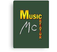 Music Creator Canvas Print