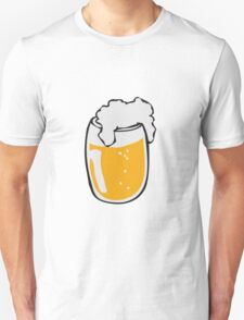 Drinking beer glass drink Unisex T-Shirt