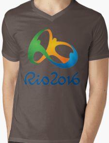 Olympic Games (Rio 2016) Mens V-Neck T-Shirt