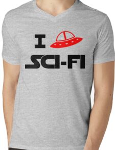 I just love Sci-Fi Mens V-Neck T-Shirt