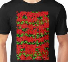 POINTSETTIA GARLAND Unisex T-Shirt