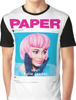 KYLIE JENNER - PAPER MAGAZINE Graphic T-Shirt