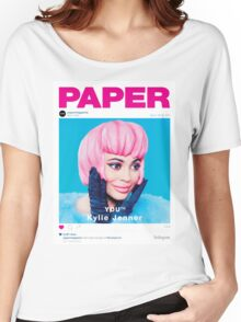 KYLIE JENNER - PAPER MAGAZINE Women's Relaxed Fit T-Shirt
