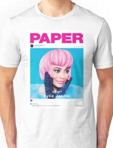 KYLIE JENNER - PAPER MAGAZINE Unisex T-Shirt