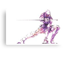 MGS - Raiden Metal Print
