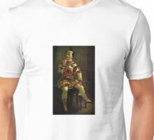 Historical clown painting Unisex T-Shirt