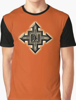 DJ Cross Graphic T-Shirt