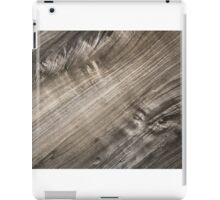 Wood texture background iPad Case/Skin