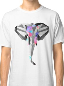 Low-Poly Elephant Classic T-Shirt