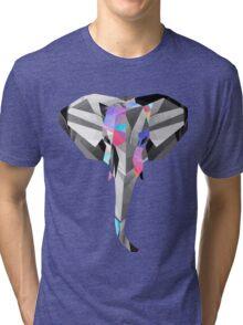 Low-Poly Elephant Tri-blend T-Shirt
