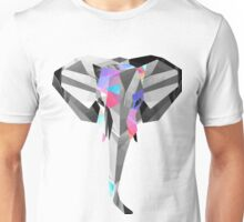 Low-Poly Elephant Unisex T-Shirt