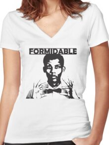 Stromae - Formidable Women's Fitted V-Neck T-Shirt